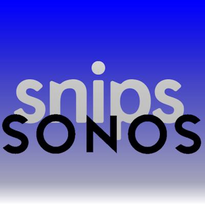 Übername von Snips durch Sonos