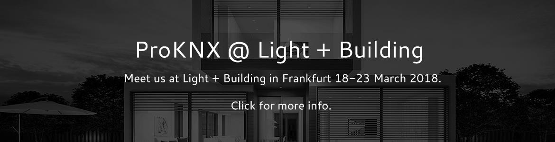 ProKNX @ Light & Buildning 2018